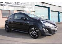 2014 Vauxhall Corsa 1.4 TURBO BLACK EDITION Petrol black Manual
