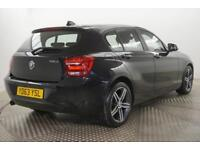 2013 BMW 1 Series 116D SPORT Diesel black Manual