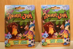 Animal Jam electronic online gaming cards for kids. by National