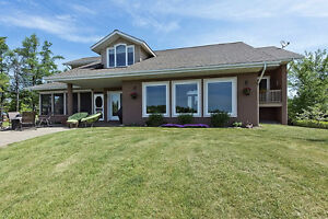 A stunning home on of Lake St. Francis!