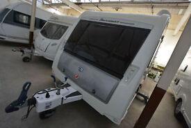 2012 Buccaneer Corsair 4 Berth Touring Caravan with Fixed Bed