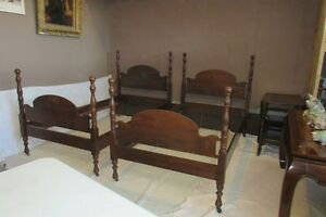 Twin Gibbard Antique Four Poster Beds