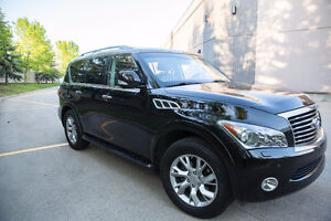 2012 Infiniti QX56 7-passenger Full Load (Low km's)