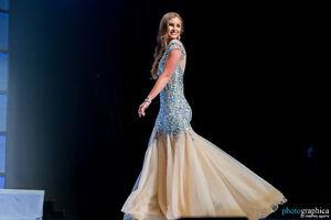 Glamorous Gown worn at Miss Canada Kitchener / Waterloo Kitchener Area image 5