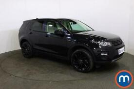 2017 Land Rover Discovery Sport 2.0 TD4 180 HSE Black 5dr Auto 4x4 Diesel Automa