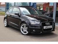 2013 AUDI A1 1.4 TFSI S Line NAV, LEATHER, PAN ROOF and 17andquot; ALLOYS