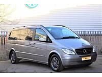 2008 Mercedes-Benz Viano 3.0 CDI Ambiente Extra Long MPV 5dr Diesel silver Autom
