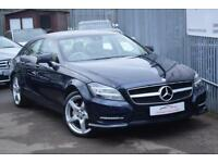 2013 Mercedes-Benz CLS CLS350 Coupe 3.0CDi BluEff 265 AMG Sport 7GT+ Diesel blue