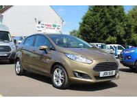Ford Fiesta 1.0 100ps EcoBoost Zetec in Fashionista Brown + A/C - Onsite