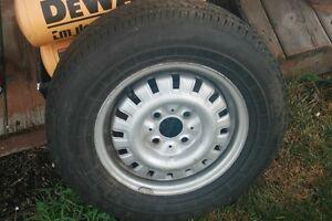 175/75R13 Tire & Rim, Trailer / Small Car