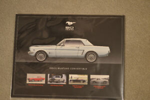 1964  Ford Mustang Commemorative Brochure