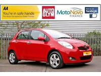 2010 Toyota Yaris 1.33 VVT-i TR 5dr Petrol red Manual