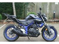 YAMAHA MT-03 ABS 2019 (69) YAMAHA MT03 ABS IN BLUE ONE OWNER LOW MILEAGE