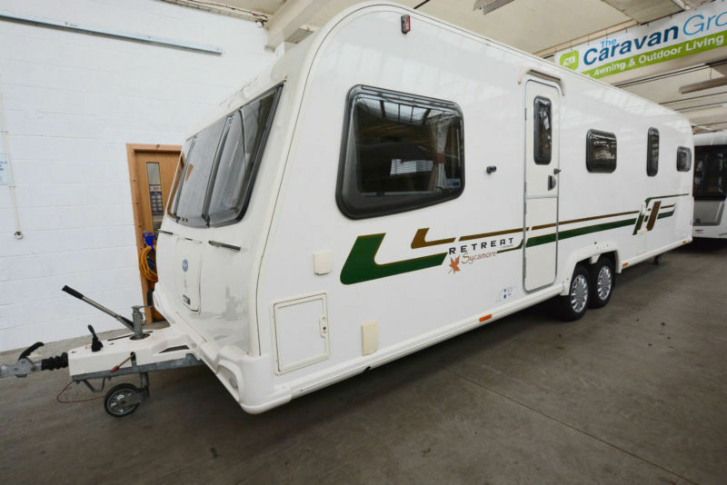 2012 Bailey Retreat Sycamore 6 Berth With Fixed Bed
