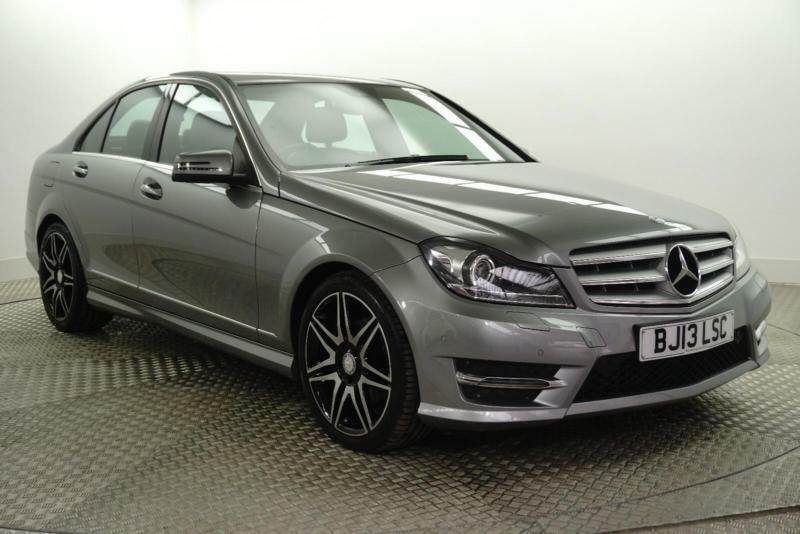 2013 mercedes benz c class c250 cdi blueefficiency amg sport plus diesel silver in bury. Black Bedroom Furniture Sets. Home Design Ideas