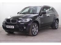 2013 BMW X5 XDRIVE30D M SPORT Diesel black Automatic