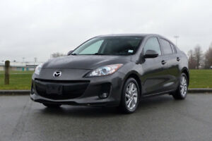 2013 Mazda3 GS-SKY **HEATED SEATS**BOSE**POWER SEATS**LOW