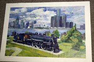 """The Spirit of Windsor"" Ltd. Ed. Lithograph Print *NEW PRICE* Windsor Region Ontario image 1"