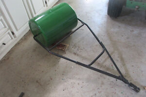 Lawn Roller With Tractor Attachment