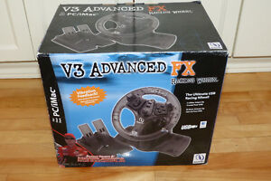 V3 Advanced FX Racing Wheel - New in Box