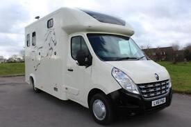 Renault Master 2.3 DCI Horse box New Build 61 Reg 50,000 Miles £19,495 + VAT