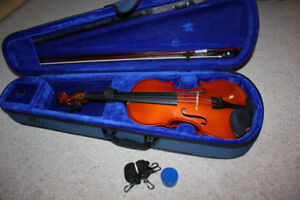 4/4 Full Size Violin/Fiddle Outfit
