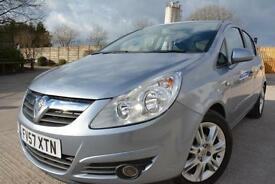 VAUXHALL CORSA DESIGN 1.4 16V 5 DOOR*ONE LADY OWNER*LOVELY CONDITION*LONG MOT*
