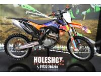 2014 KTM SXF 350 2014 MOTOCROSS BIKE WP SUSPENSION, NEW GRIPS