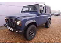 2010 Land Rover Defender Pick Up TDCi XS SPEC canvas back saw tooth alloys up...