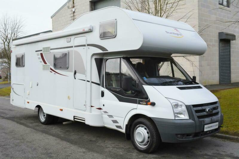 b9fa7020de 2009 DETHLEFFS SUNLIGHT 6 BERTH FAMILY MOTORHOME FOR SALE