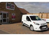 2017 FORD TRANSIT CONNECT 220 TDCI 100 L1 H1 TREND DOUBLE CAB 5 SEAT CREW VAN CO