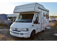 Elddis Autoquest 200 Coachbuilt Motorhome for Sale 4 Berth Awning Cruise Control