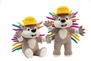 2 PACHI 2015 Pan Am Games Mascots including 2 Pachi Pins