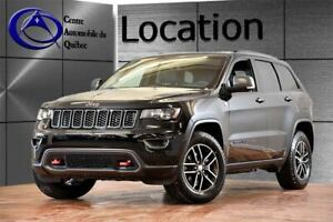 2019 Jeep Grand Cherokee Trailhawk 4X4 CUIR TOIT-PANO NAV HITCH
