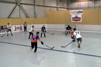 Surfaces hockey balle cosom 3 vs 3 et 4 vs 4 à Laval