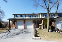 Very Bright 3 Bedroom, 2 Bath Townhouse In The Heart Of Brampton