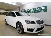 Skoda Octavia 2.0 TDI CR VRS Estate [3X SKODA SERVICES, SAT NAV, LEATHER and ?30