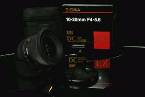 Sigma 10-20mm f/4-5.6 EX DC HSM for Nikon DX