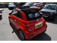 2017 Abarth 500 1.4 T-Jet 3dr Petrol red Manual
