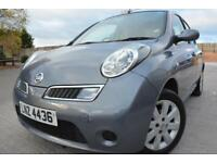 NISSAN MICRA ACENTA+ 1.2 16V 5 DOOR*ONE OWNER FROM NEW*STUNNING CONDITION*