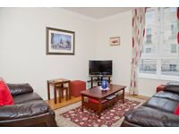 Short Term Let - Two bed apartment in the New Town with private parking and lift access (250)