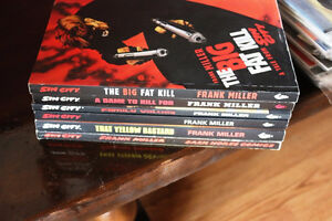 ESTATE FANTASTIC COLLECTION OF BOOKS INCLUDING SIN CITY & COMICS