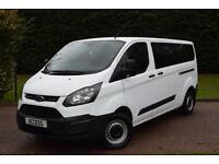 Ford Transit Custom 9 seat mini bus 2.2TDCi 9 310 L2H1