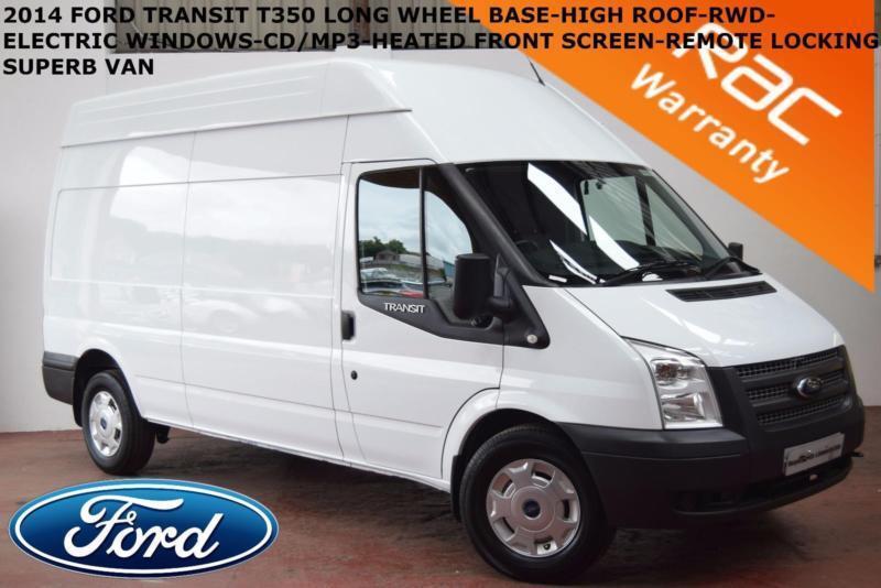 2014 Ford Transit 2.2TDCi (100PS) (EU5) (RWD) 350L