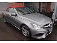 Mercedes E220 CDI AMG SPORT-RED LEATHER-P/SENSORS-CRUISE CONTROL