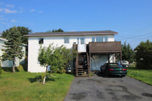 2 Apartment home with attached garage in Mount Pearl!!