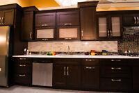 Armoires de cuisine en bois, Grande economie, prix imbattable