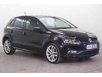 2015 Volkswagen Polo SEL TDI BLUEMOTION Diesel black Manual