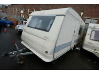 1999 Adria Altea 502 DK 5 Berth Touring Caravan with Fixed Bunks