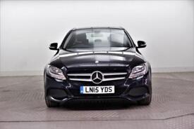 2015 Mercedes-Benz C Class C220 BLUETEC SE Diesel blue Automatic